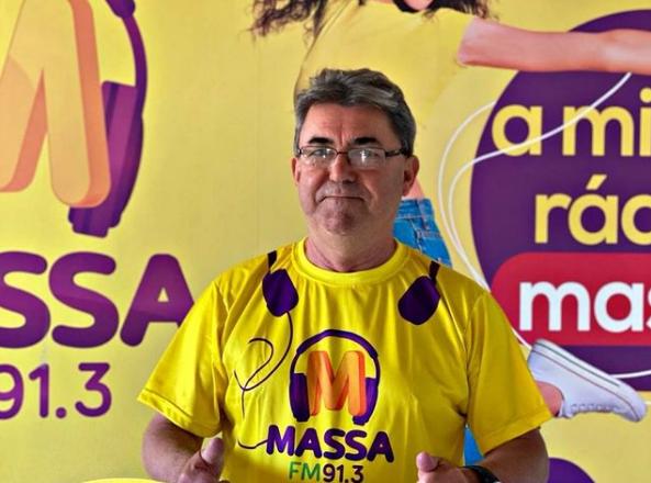 Rádio, futebol e família, as paixões de Rubens Batata