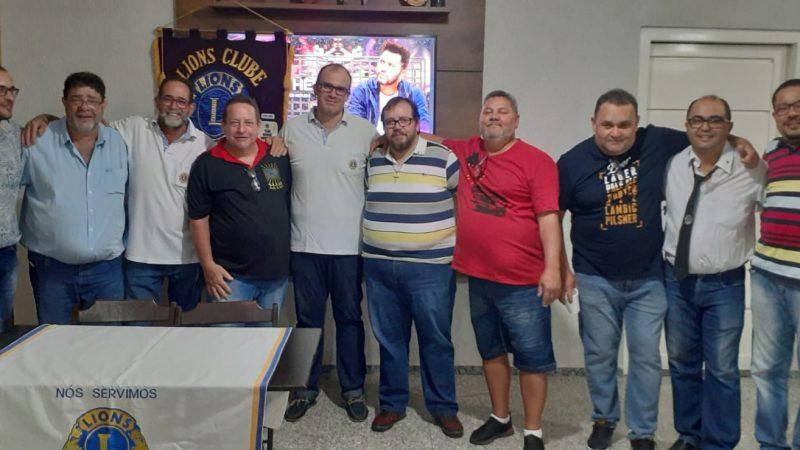 Lions Mirandópolis empossa diretoria 2021/2022 e também inicia projeto na AMAI